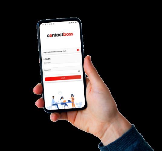 Contact Boss Mobile App Download
